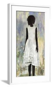 Girl in a Garden by Mark Chandon