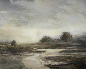 Misty Riverscape by Mark Chandon