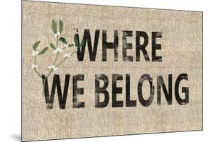 Storehouse Welcome - Belong by Mark Chandon