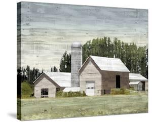 Western Plain - Silo by Mark Chandon
