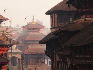Durbar Square, Kathmandu, Nepal, Asia by Mark Chivers