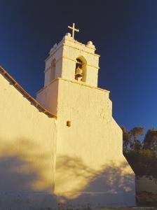 Iglesia De San Pedro, San Pedro De Atacama, Chile, South America by Mark Chivers