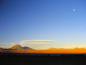 Licancabur Volcano, San Pedro De Atacama, Chile, South America by Mark Chivers