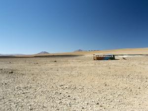 Near the Chilean Border, Salar De Uyuni, Bolivia, South America by Mark Chivers