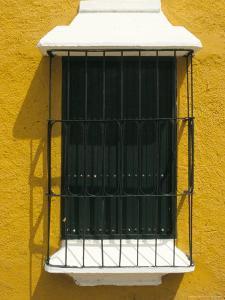 Ornate Window, Ciudad Bolivar, Venezuela, South America by Mark Chivers