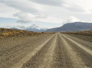 Road to El Chalten, Patagonia, Argentina, South America by Mark Chivers