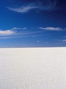 Salt Desert of Uyuni, Bolivia, South America by Mark Chivers