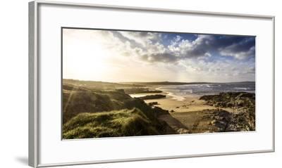 Sunrise at Gwithian Beach, Cornwall, England, United Kingdom