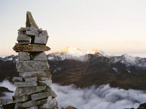 Sunrise from Base Camp on Huayna Potosi, Cordillera Real, Bolivia, South America by Mark Chivers