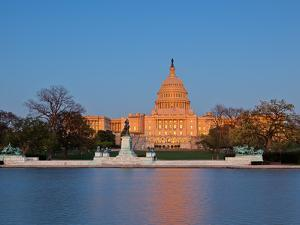 Ulysses S Grant Memorial and US Capitol Building and Current Renovation Work, Washington DC, USA by Mark Chivers