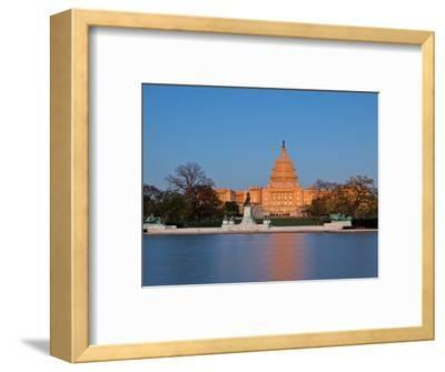 Ulysses S Grant Memorial and US Capitol Building and Current Renovation Work, Washington DC, USA