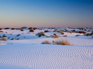 White Sands National Monument, New Mexico, United States of America, North America by Mark Chivers