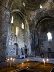 Candles in Sanahin Monastery Church by Mark Daffey