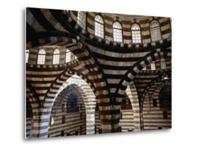 Inside Striped Domes of Khan Assad Pasha Built Between 1751-53, Old City, Damascus, Syria by Mark Daffey