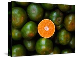 Mandarins for Sale., Serian, Sarawak, Malaysia by Mark Daffey
