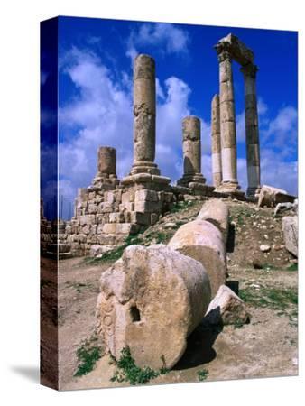 Temple of Hercules at the Citadel, Jebel Al-Qala, Amman, Jordan