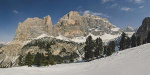 Hidden Valley Ski Area, Lagazuoi, UNESCO World Heritage Site, Dolomites, South Tyrol, Italy, Europe by Mark Doherty