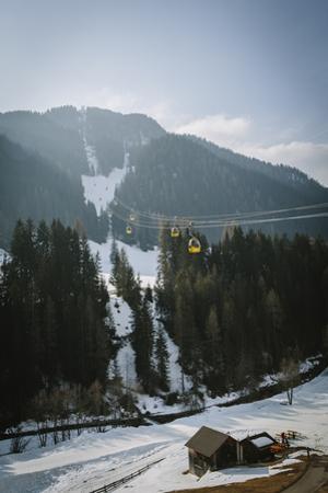 Piz La Villa from La Villa, Alta Badia, Dolomites, South Tyrol, Italy by Mark Doherty