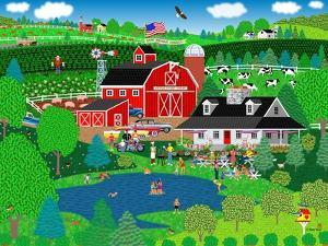 Apple Pond Farm Summer by Mark Frost