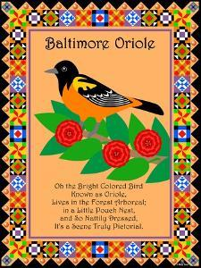Baltimore Oriole Quilt by Mark Frost