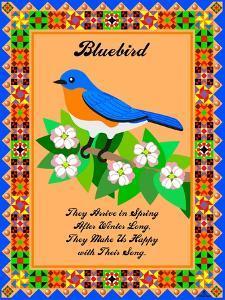 Bluebird Quilt by Mark Frost