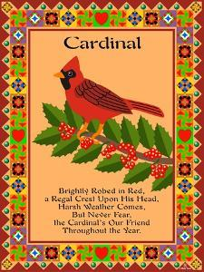 Cardinal Quilt by Mark Frost