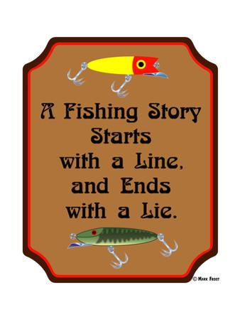 Fish Story Line Lie by Mark Frost
