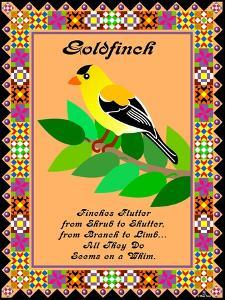 Goldfinch Quilt by Mark Frost