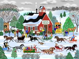 Jingle Bell Sleigh Society by Mark Frost
