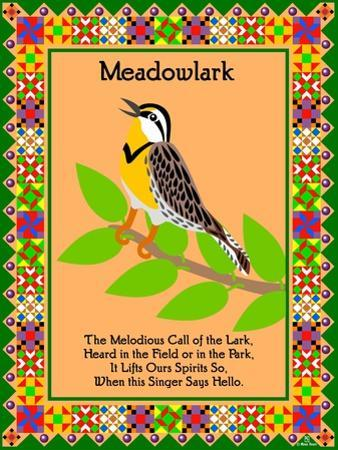 Meadowlark Quilt by Mark Frost