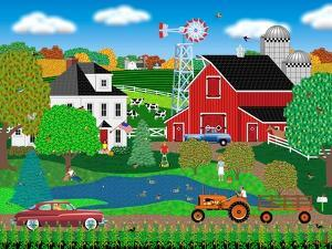 Pleasant Day on the Farm by Mark Frost