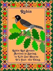 Robin Quilt by Mark Frost
