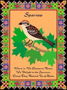 Sparrow Quilt by Mark Frost
