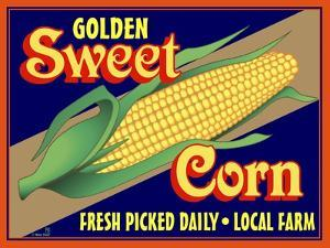 Sweet Corn Crate Label by Mark Frost