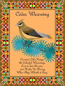 Waxwing Quilt by Mark Frost