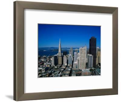 Alcatraz and Skyline, San Francisco, CA
