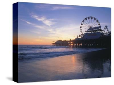 Pier Sunset, Santa Monica, CA