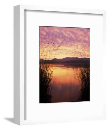 Sandpoint, Id, Sunset on Lake Pond Oreille