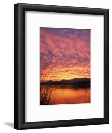 Sandpoint, Id, Sunset on Lake