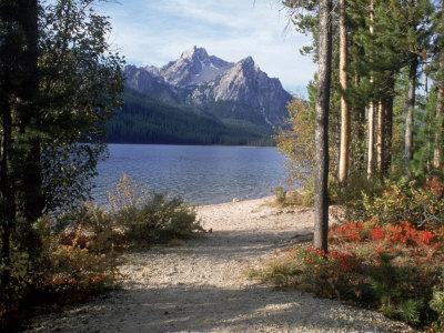 Sawtooth Mountains, ID, Stanley Lake