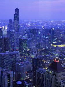 Skyline Dusk, Chicago, IL by Mark Gibson