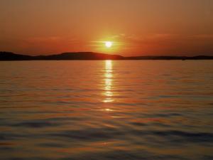 Sunset Over Lake Lanier, GA by Mark Gibson