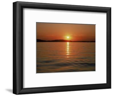 Sunset Over Lake Lanier, GA