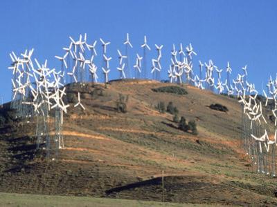 Wind Turbine Generators, Tehachapi, CA by Mark Gibson