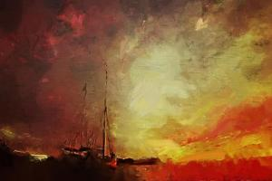 After A Storm At Sea by Mark Gordon