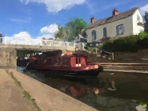 Canal Summer - 1 by Mark Gordon