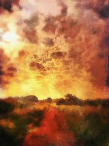 country lane sunrise by Mark Gordon
