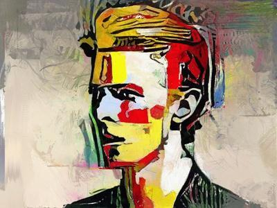 Picasso Reimagined - David Bowie