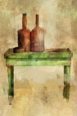 Table with Bottles