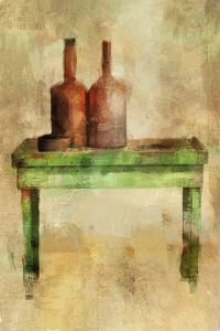 Table with Bottles by Mark Gordon